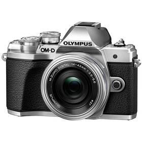 Olympus E-M10 Mark III, stříbrná/stříbrná + 14-42mm (V207071SE000) + Doprava zdarma