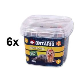 Ontario Snack Mini Bones 6 x 100g