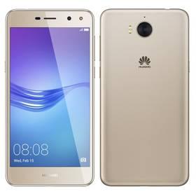 Huawei Y6 2017 Dual SIM (SP-Y617DSGOM) zlatý Software F-Secure SAFE, 3 zařízení / 6 měsíců (zdarma) + Doprava zdarma