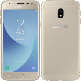 Mobilní telefon Samsung Galaxy J3 (2017) (SM-J330FZDDETL ) zlatý