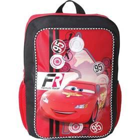 Batoh detský Sun Ce Disney Cars formula racer čierny/červený