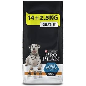 Purina Pro Plan LARGE ADULT Athletic 14 kg + 2,5 kg + Doprava zdarma