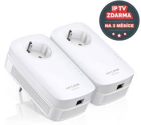 TP-Link TL-PA8010P Starter Kit + IP TV na 3 měsíce ZDARMA (TL-PA8010PKIT) + Doprava zdarma