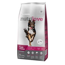 Nutrilove Dog dry Ault M fresh chicken 8kg