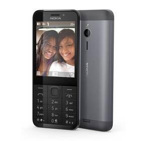 Nokia 230 Dual SIM (A00026952) černý SIM s kreditem T-Mobile 200Kč Twist Online Internet (zdarma)