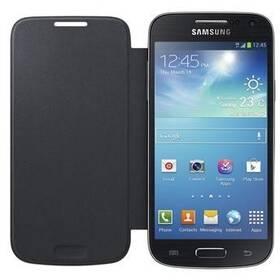 Pouzdro na mobil flipové Samsung pro Galaxy S4 mini (EF-FI919BB) (EF-FI919BBEGWW) černé