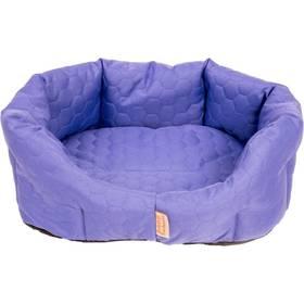 Samohýl Elegance 8 hran textil  fialový 60 cm