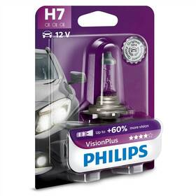 Philips VisionPlus H7, 1ks (12972VPB1)