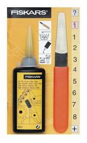 Fiskars souprava na údržbu zahradních nůžek (110990) oranžové