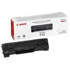 Canon CRG-712, 1,5K stran - originální (1870B002) černý + Doprava zdarma