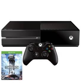 Microsoft Xbox One 500GB + Star Wars Battlefront (MSOH00035) černá