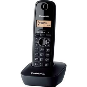 Panasonic KX TG1611FXH DECT (KX-TG1611FXH) šedý