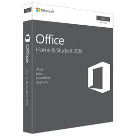 Software Microsoft Office Mac 2016 pro domácnosti Eng (GZA-00873)