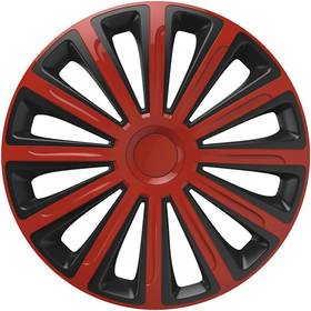 "Versaco Trend red/black 16"" sada 4ks (20024)"