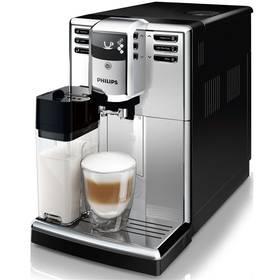 Philips EP5363/10 stříbrné + Káva BIO zrnková Uganda 250 g Simon Lévelt v hodnotě 159 Kč + Doprava zdarma