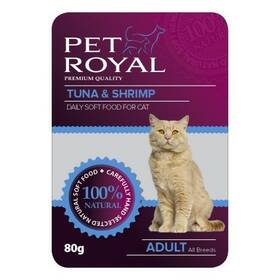 Pet Royal Cat tuňák+krevety 80 g