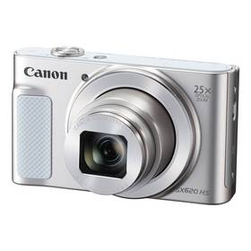 Canon PowerShot SX620 HS (1074C002) bílý Paměťová karta Kingston MicroSDHC 16GB UHS-I U1 (45R/10W) + adapter (zdarma) + Doprava zdarma