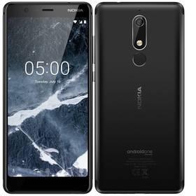 Nokia 5.1 Dual SIM (11CO2L01A13) černý + Doprava zdarma