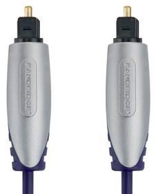 Bandridge Premium, optický, 1m, audio (BSAL5601) čierny