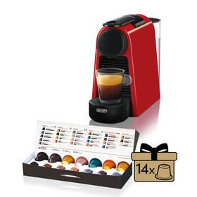 DeLonghi Nespresso Essenza Mini EN85.R červené + Doprava zdarma