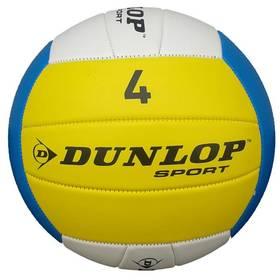 Volejbalový míč Dunlop bílá/modrá/žlutá