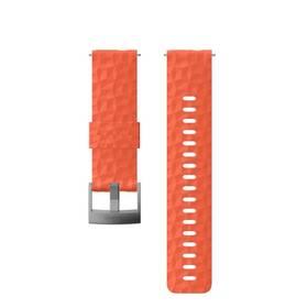 Suunto silikonový velikost M - coral/gray (SS050220000)