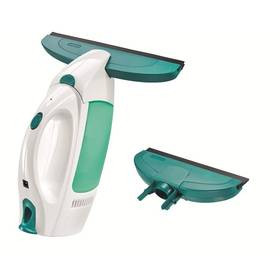 Leifheit Window Cleaner s malou sací hubicí bílá barva/zelená barva