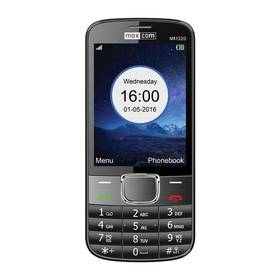 MaxCom Classic MM320 Single Sim (MM320BKSS) čierny