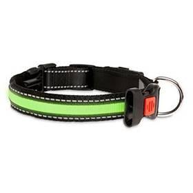 Karlie LED nylonový s USB nabíjením 66 cm zelený