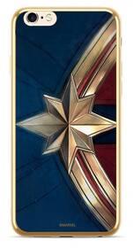 Marvel Premium Glass Captain Marvel pro Apple iPhone 7/8 (MPCCAPMV11103) modrý