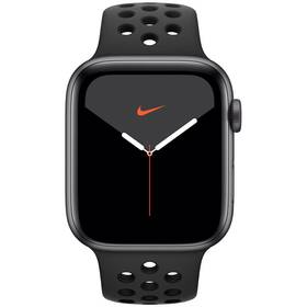 Apple Watch Nike Series 5 GPS 44mm pouzdro z vesmírně šedého hliníku - antracitový/černý sportovní řemínek Nike SK (MX3W2VR/A)