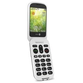 Doro 6050 Dual SIM (7252) šedý/bílý