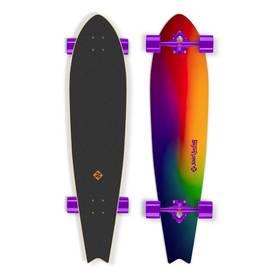 """Street Surfing Fishtail 42"""" Sunset Blur červený/modrý/žlutý/zelený + Doprava zdarma"""