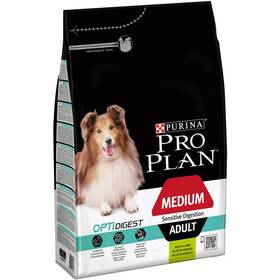 Purina Pro Plan MEDIUM ADULT Sensitive Digestion Jehně 3 kg