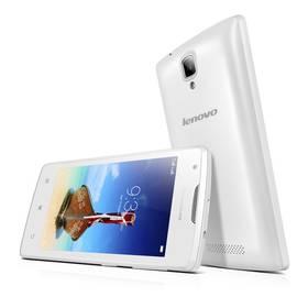 Lenovo A1000 DualSIM (PA1R0020CZ) bílý + Voucher na skin Skinzone pro Mobil CZ v hodnotě 399 Kč jako dárek + Doprava zdarma