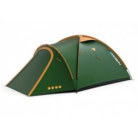 Husky Outdoor Bizon 3 classic zelený + Stan Loap BEACH SHELTER pro 4 osoby - zelená v hodnotě 719 Kč + Doprava zdarma