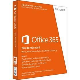 Microsoft Office 365 pro domácnosti CZ ESD licence (6GQ-00092) + Doprava zdarma