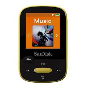 Sandisk Sansa Clip Sports 8 GB (SDMX24-008G-G46Y) žlutý