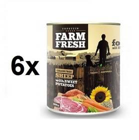 Farm Fresh Sheep with Sweet Potatoes 6 x 800 g