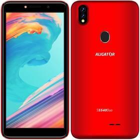 Aligator S5540 Dual SIM (AS5540RD) červený