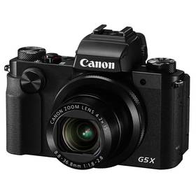Canon PowerShot G5 X černý Paměťová karta Kingston MicroSDHC 32GB UHS-I U1 (45MB/s) + adaptér (zdarma) + Doprava zdarma