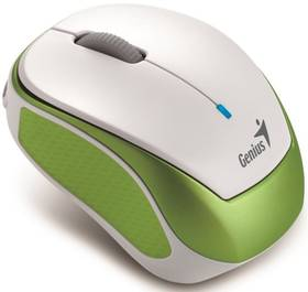 Genius Micro Traveler 9000R V3 (31030132102) bílá/zelená