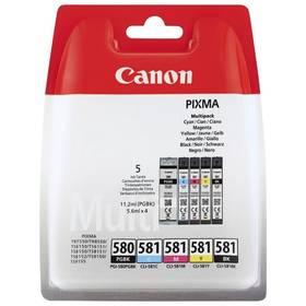 Canon PGI-580/CLI-581 Multi pack, CMYK (2078C005)
