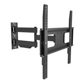 "GoGEN L polohovateľný, pre uhlopriečky 32"" až 55"", nosnost 35 kg (GOGDRZAKTURNL3) čierny"