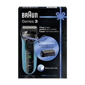 Braun Series 3 3040s W&D + holící hlava 32B černý + Doprava zdarma