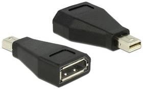 DeLock DisplayPort / Mini DisplayPort (65238) čierna
