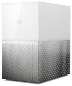 Datové uložiště (NAS) Western Digital My Cloud Home Duo 16TB (WDBMUT0160JWT-EESN) stříbrné/bílé + Doprava zdarma