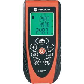 Měřič vzdálenosti Toolcraft LDM 70 + Doprava zdarma