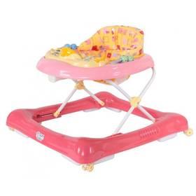 Chodítko detské Sun Baby Car ružové