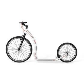 Yedoo Alloy Trexx bílá + Reflexní sada 2 SportTeam (pásek, přívěsek, samolepky) - zelené v hodnotě 58 Kč + Doprava zdarma